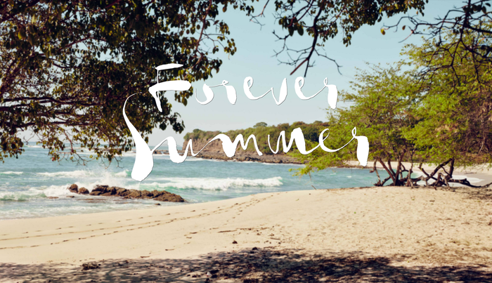 """""""Forever Summer"""" campaign, H&M 1"""