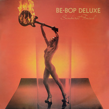 Be-Bop Deluxe – <cite>Sunburst Finish </cite>album art