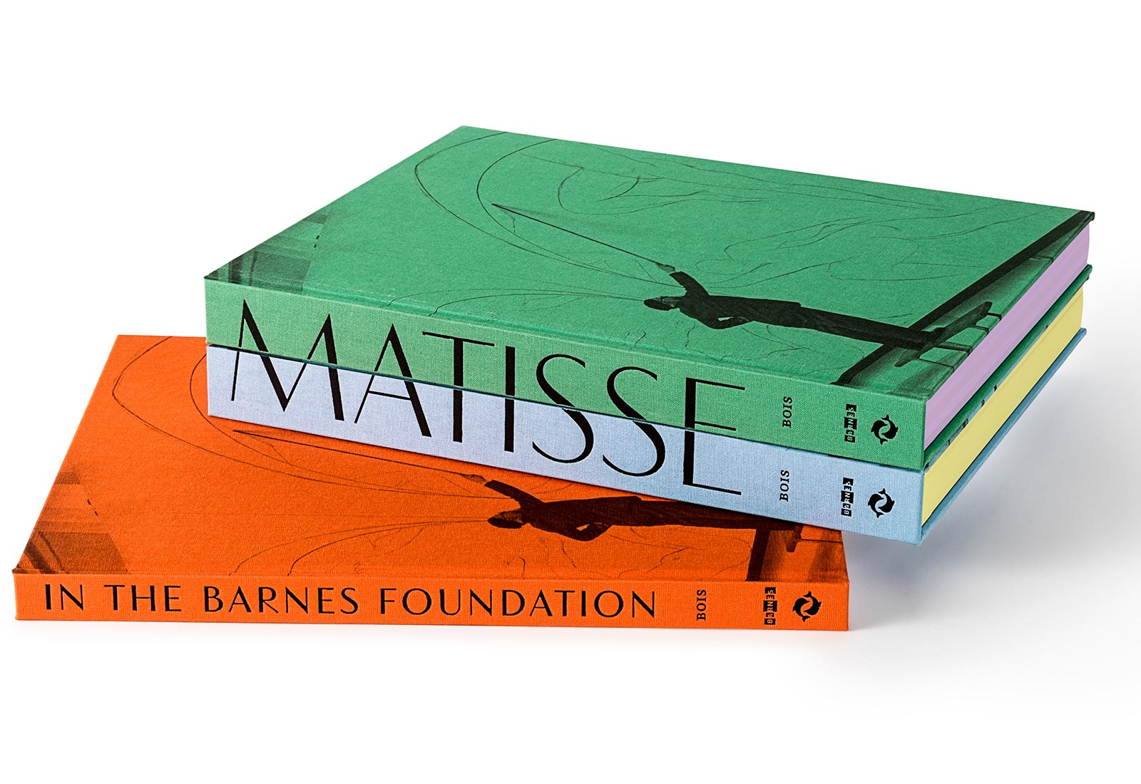 Matisse in the Barnes Foundation - Fonts In Use