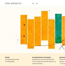 Ciro Esposito personal site