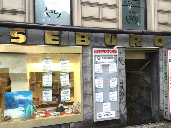 Reisebüro on Mehringdamm, Berlin 2