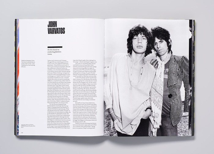 Fashion designer John Varvatos writes on the Stones as enduring fashion icons.