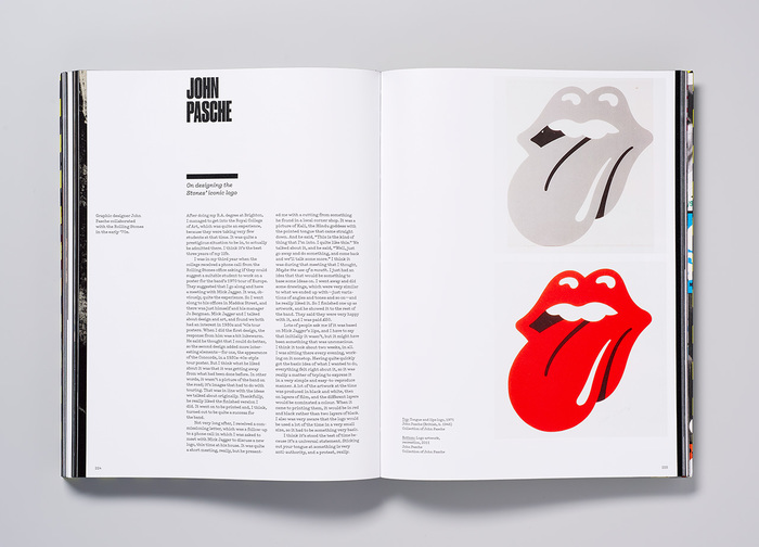 John Pasche on designing the iconic Tongue and Lip Design logo.