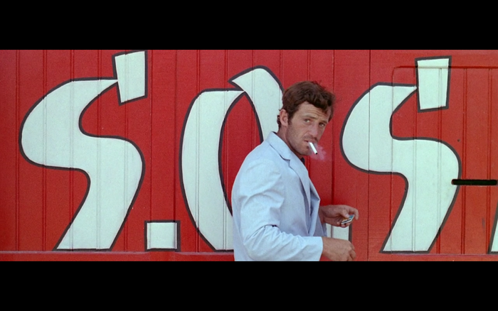 Pierrot le Fou production design
