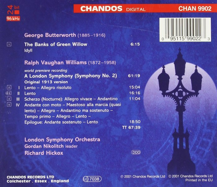 A London Symphony by Vaughan Williams, Chandos 2
