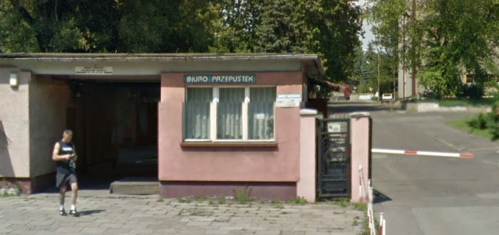 """Biuro Przepustek"" [gate]"