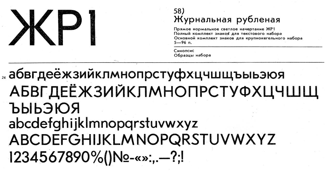 Zhurnalnaya Roublennaya: A Poor Man's Futura - Fonts In Use
