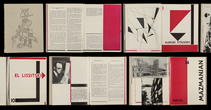 Cover and spreads of Arhitektid Arhitektuurist