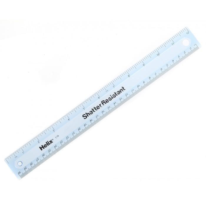 Helix shatter resistant ruler 2