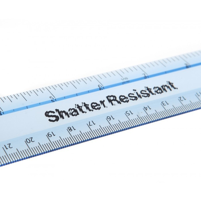 Helix shatter resistant ruler 1