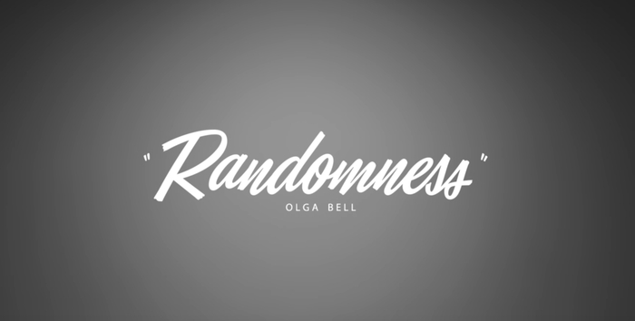 End title for Randomness music video.
