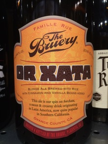 OR XATA Beer by The Bruery