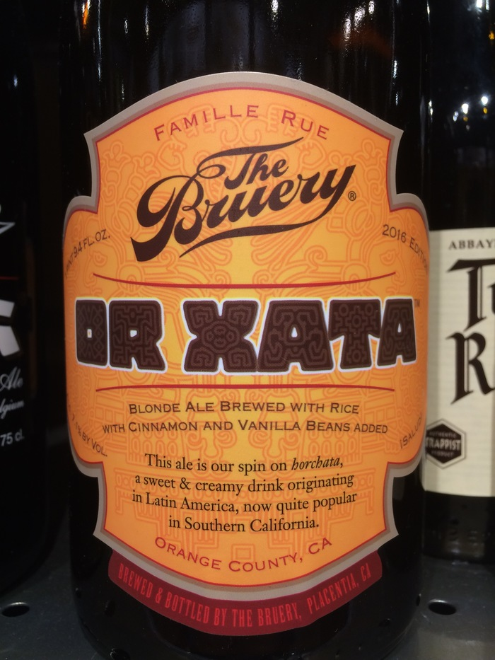 OR XATA Beer by The Bruery 1