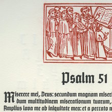 ATF Keepsake 2012: <cite>Psalm 51</cite>