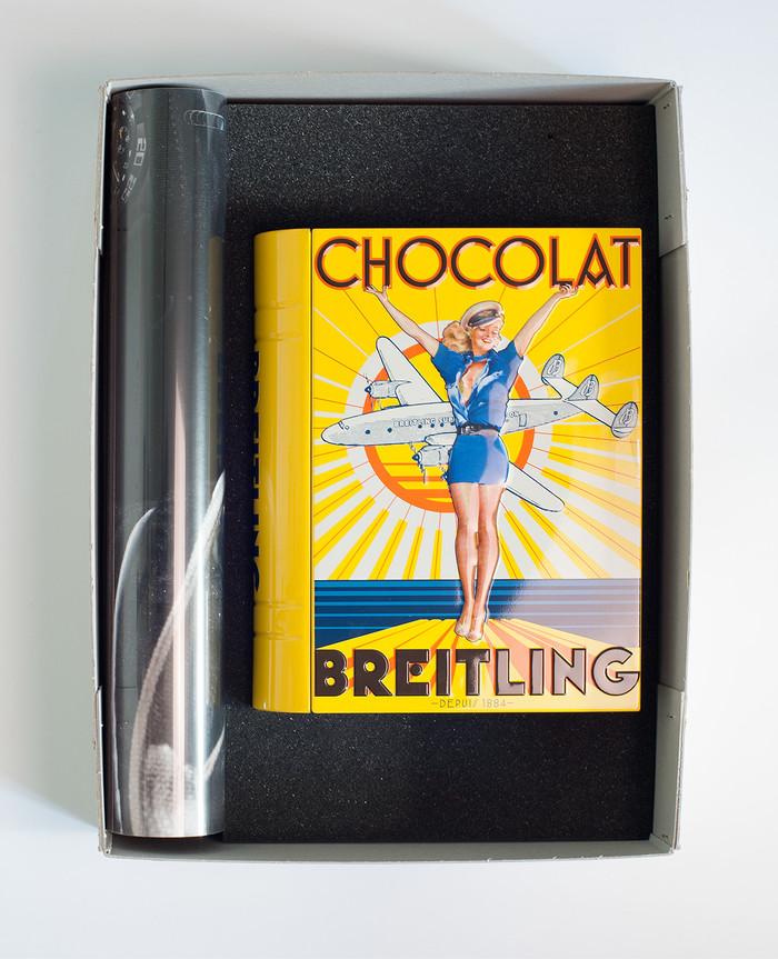 Chocolat Breitling candy tin 3