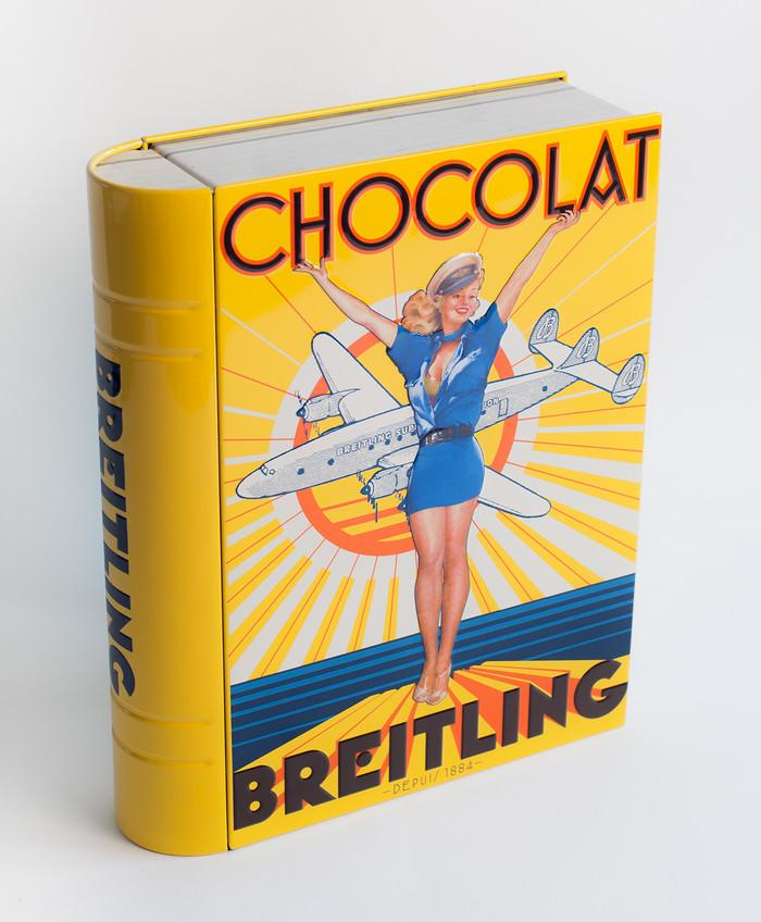 Chocolat Breitling candy tin 4