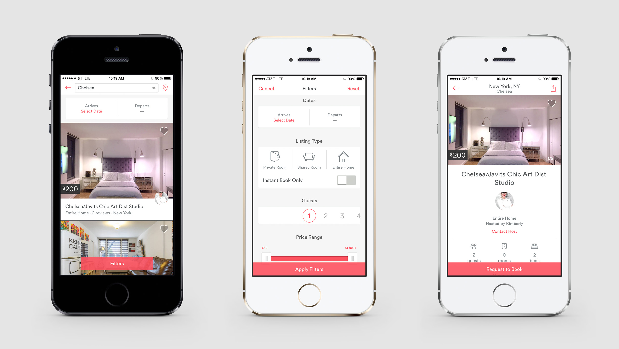 Airbnb Identity Website App 2014 Redesign Fonts In Use
