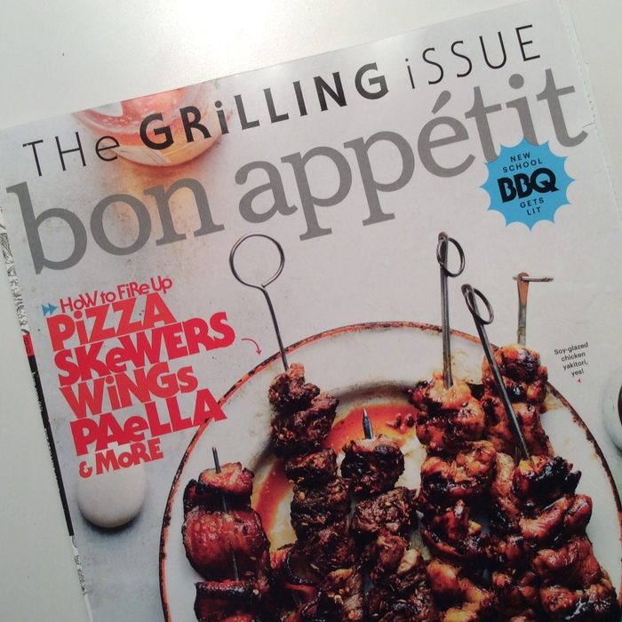 "Bon Appétit ""The Grilling Issue"", June 2016 1"