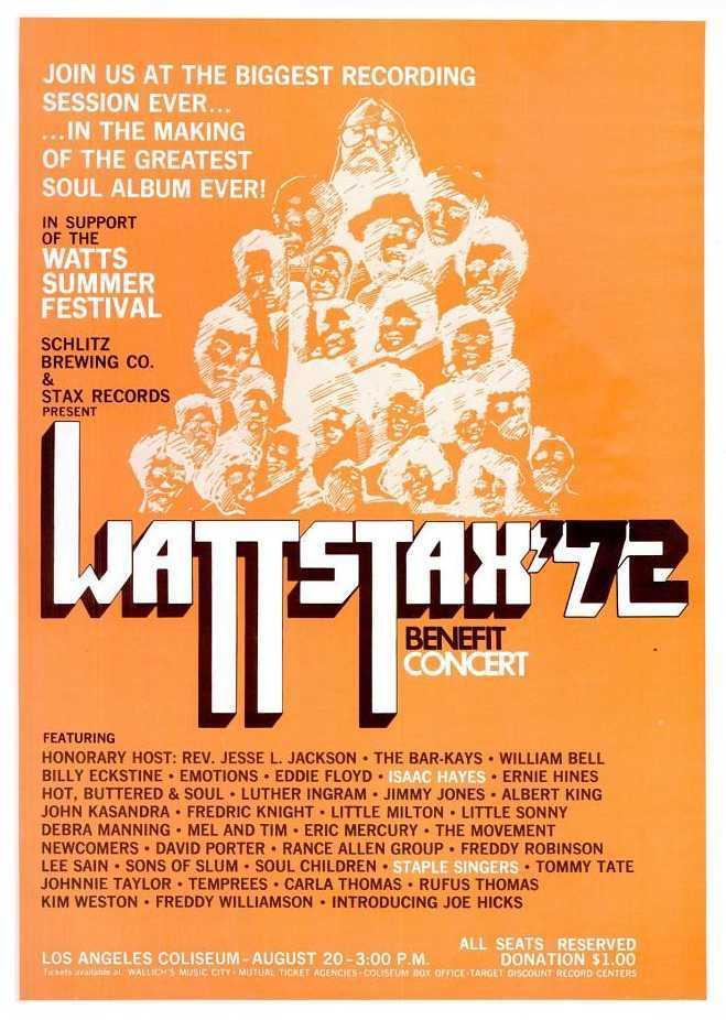 Wattstax concert/album/film 4