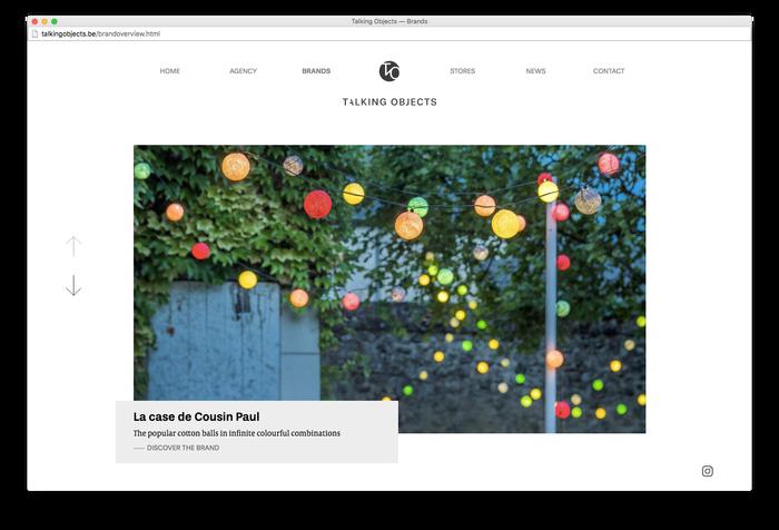 Talking Objects website 3