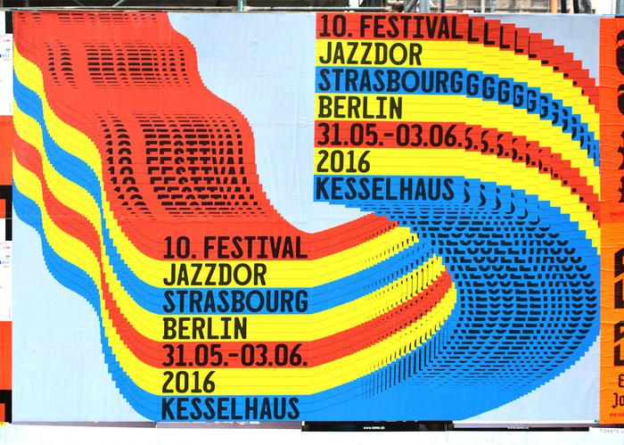 Jazzdor Strasbourg Berlin 2016 posters 6