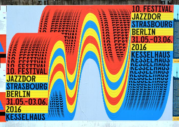 Jazzdor Strasbourg Berlin 2016 posters 5