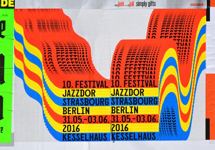 Jazzdor Strasbourg Berlin 2016 posters 2