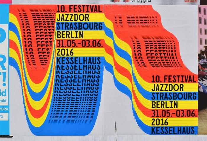 Jazzdor Strasbourg Berlin 2016 posters 4