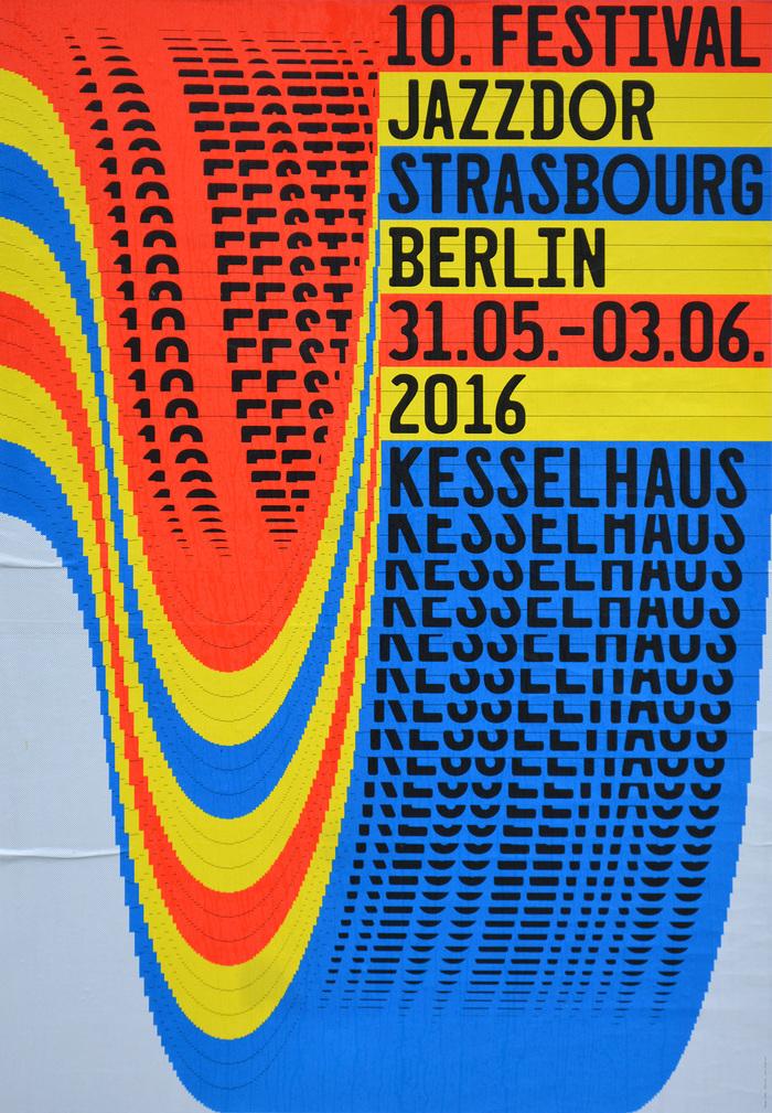 Jazzdor Strasbourg Berlin 2016 posters 1