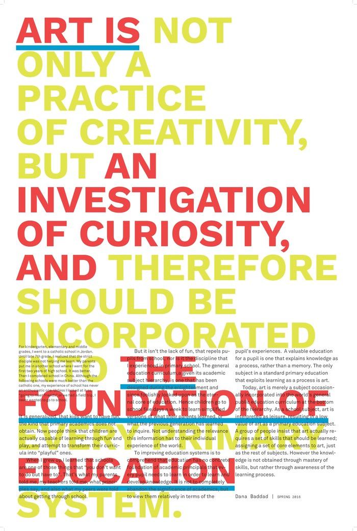 Education Manifesto 3