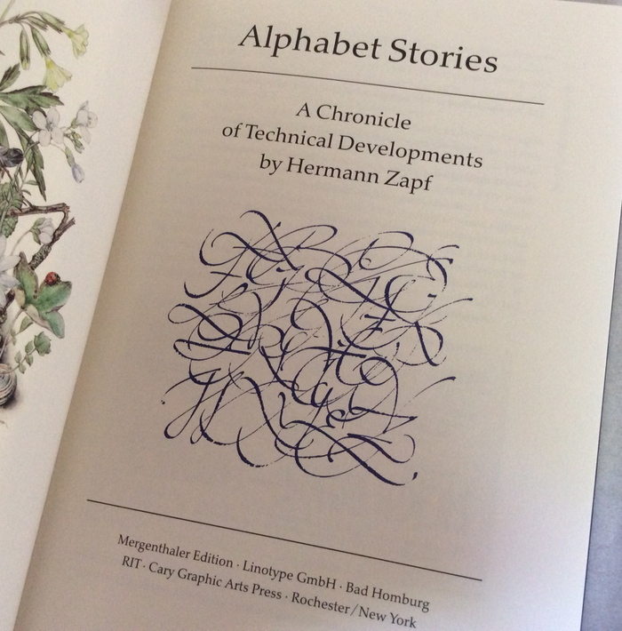 Alphabet Stories by Hermann Zapf 1