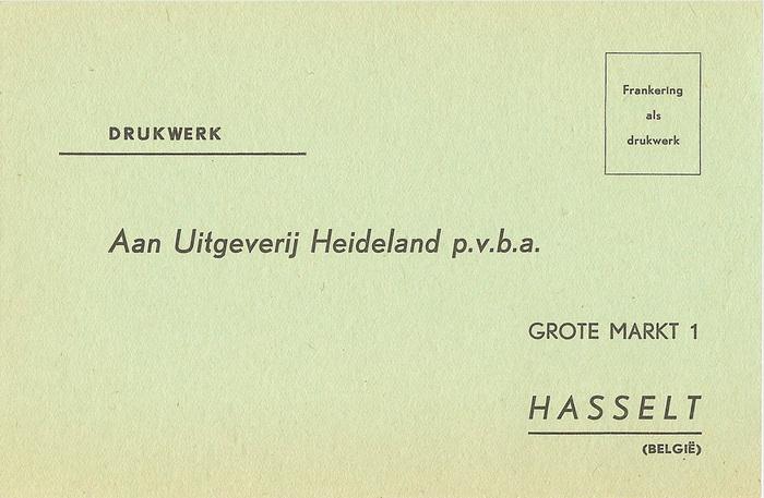 Uitgeverij Heideland inquiry form 3
