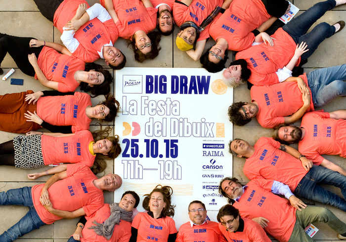 Big Draw Barcelona 1