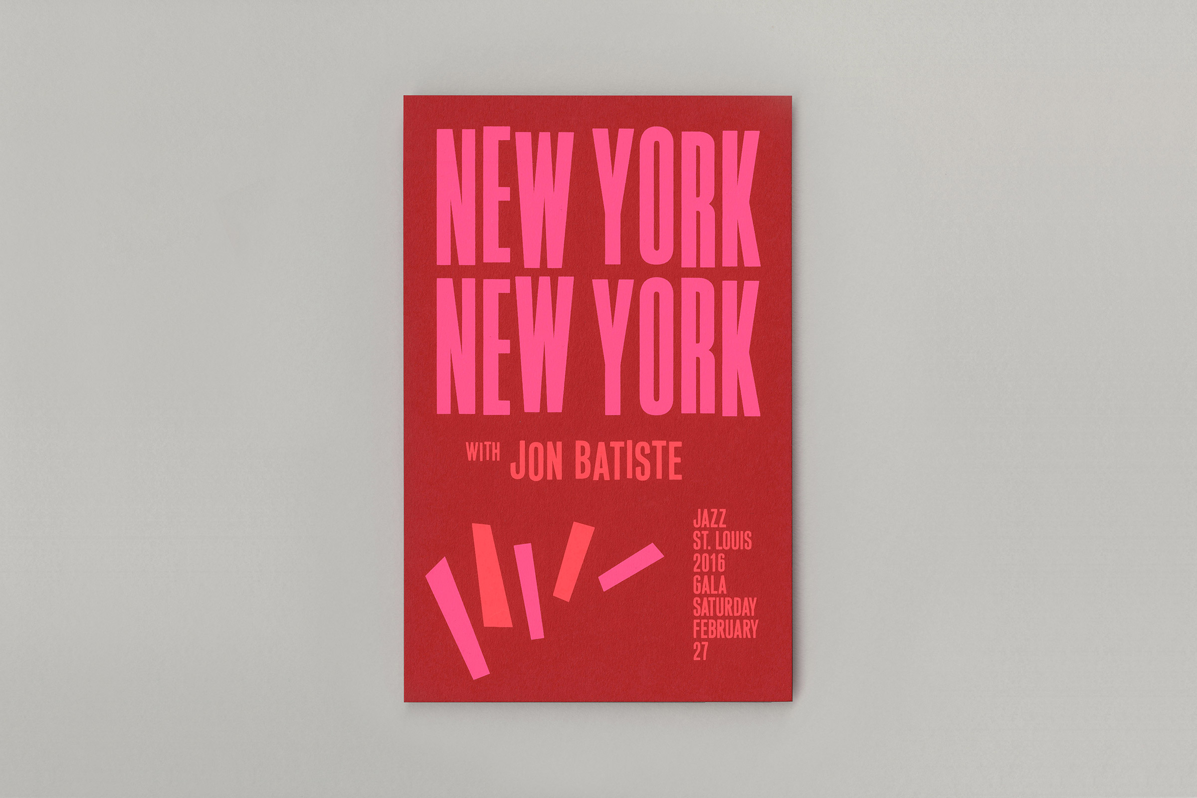 New York New York, Jazz St. Louis - Fonts In Use