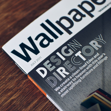 "<cite>Wallpaper*</cite> ""Design Directory"" issue, July 2011"