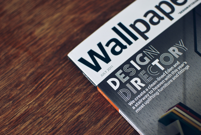 "Wallpaper* ""Design Directory"" issue, July 2011 1"