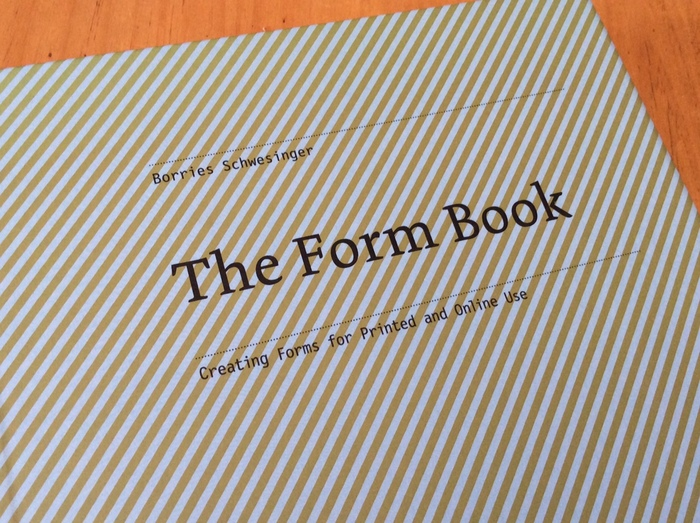 The Form Book by Borries Schwesinger 1