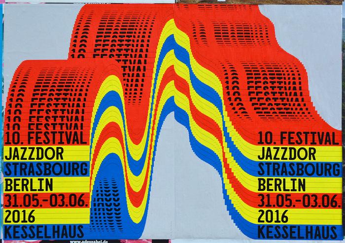 Jazzdor Strasbourg Berlin 2016 posters 3