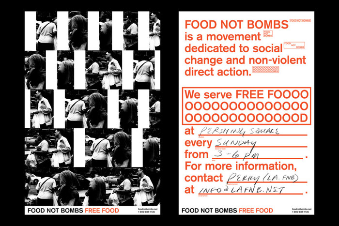 Food Not Bombs hypothetical redesign 2