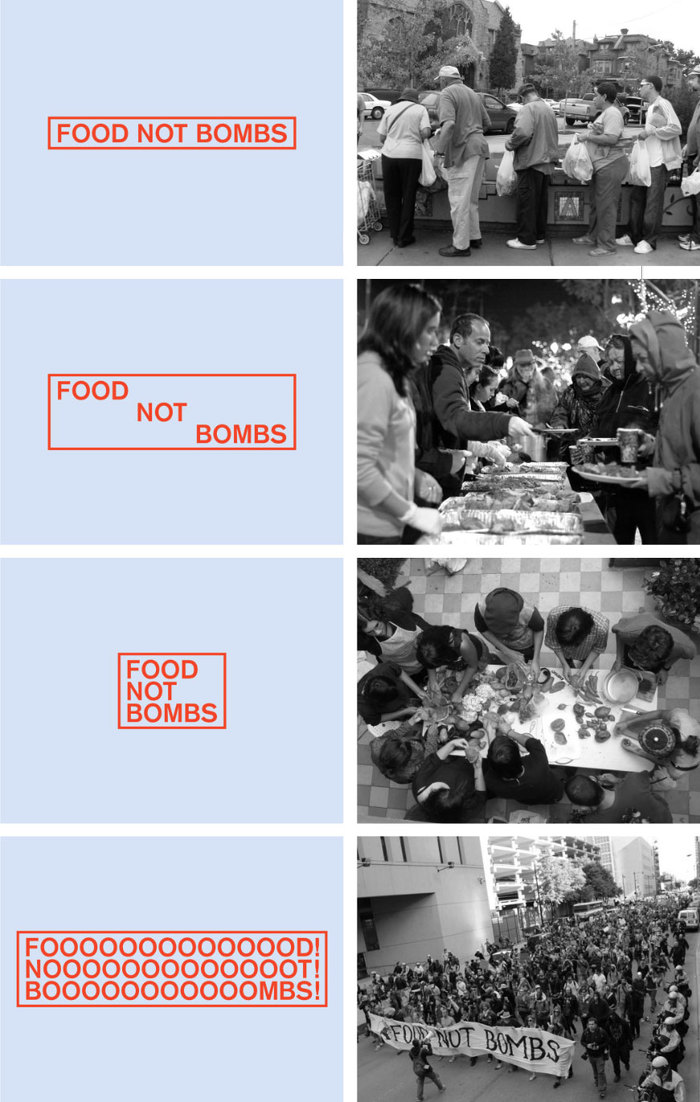 Food Not Bombs hypothetical redesign 1