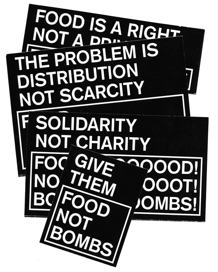 Food Not Bombs hypothetical redesign 13