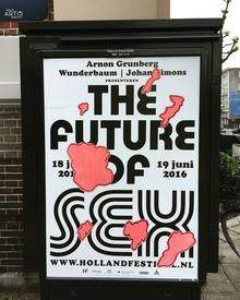 <cite>The Future of Sex</cite> poster
