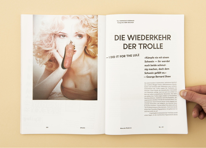 """Die Epilog, issue 4: """"Humor. Mehr als Spaß"""" 5"""