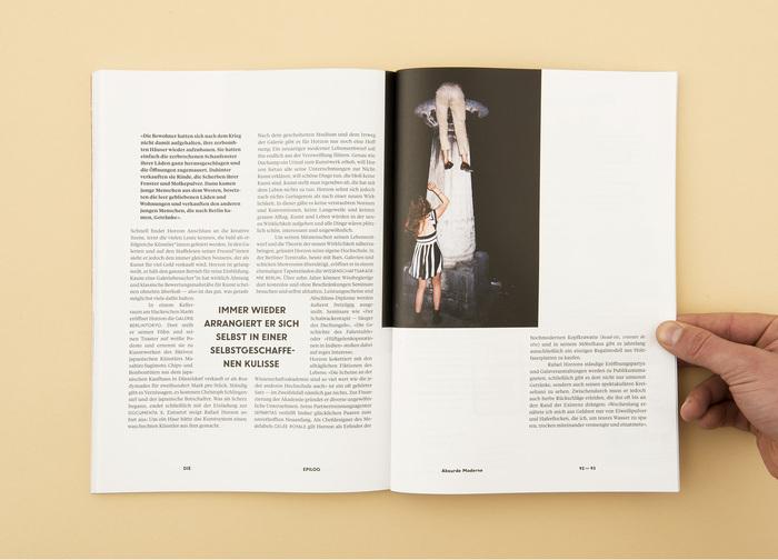 """Die Epilog, issue 4: """"Humor. Mehr als Spaß"""" 6"""