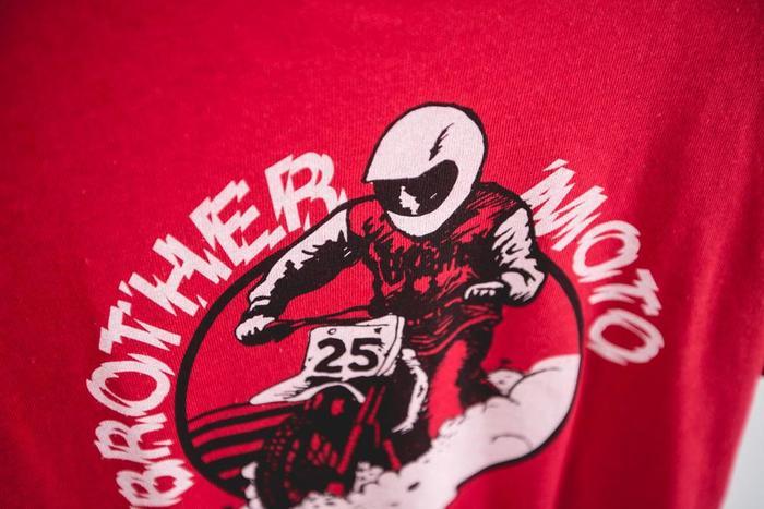 Brother Moto Flat-Trackin' Tee 3