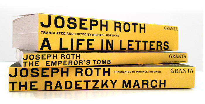 Joseph Roth edition, Granta Books 4