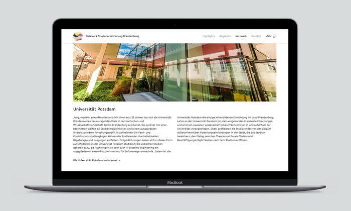 Netzwerk Studienorientierung Brandenburg 2