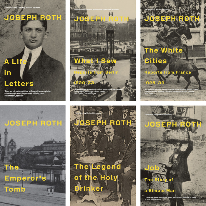 Joseph Roth edition, Granta Books 1