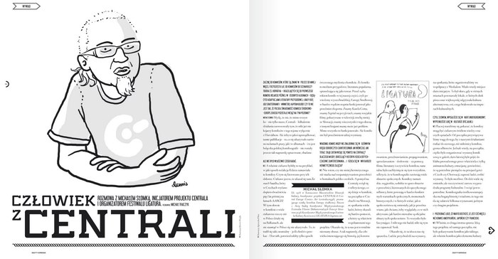 Zeszyty Komiksowe – a comic magazine from Poland 1
