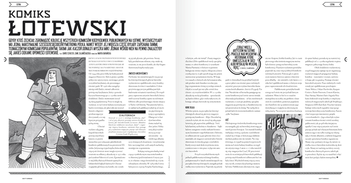 Zeszyty Komiksowe – a comic magazine from Poland 2
